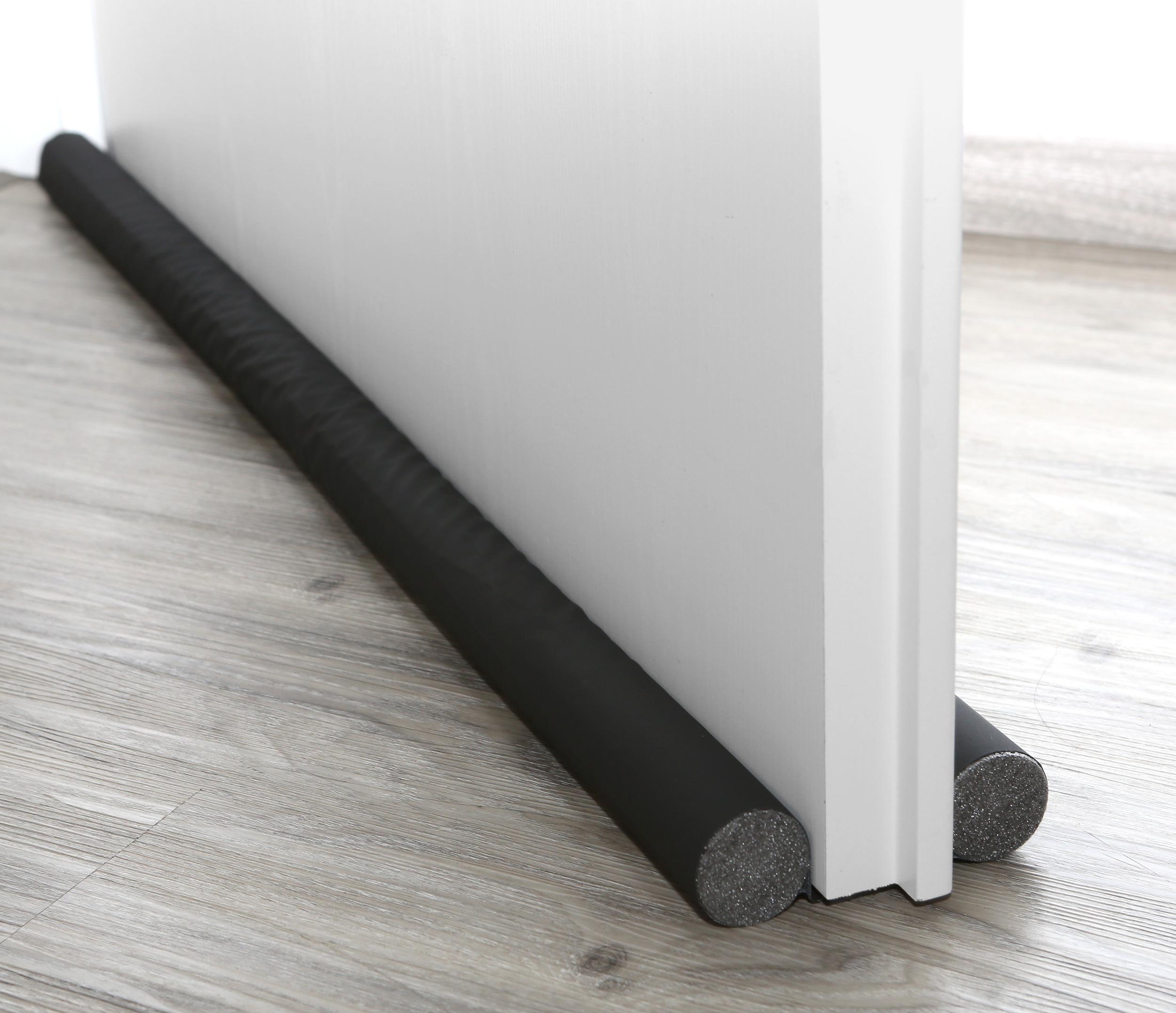 universell zugluftstopper f r t ren 96 cm zuschneidbare t rdichtung mit 2 seiten schutz sonstiges. Black Bedroom Furniture Sets. Home Design Ideas