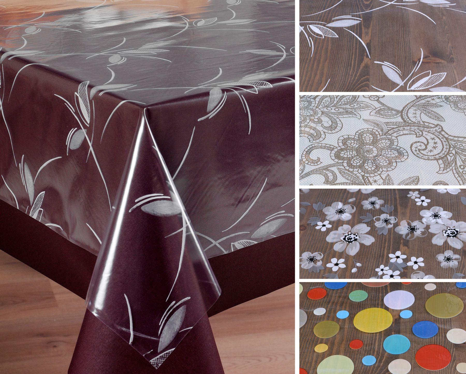 Tischfolie Tischdecke Schutzfolie Mit Muster 15