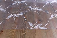 Transparente Folie bedruckt MOTIV und Größe wählbar, Tischdecke Tischschutz Rund Oval Eckig – Bild 3