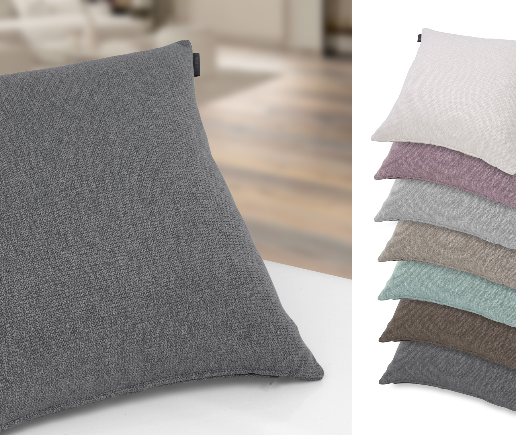 kissenh lle bodenkissen zierkissen sofakissen loft von 40x40 bis 60x60 cm gr e und farbe. Black Bedroom Furniture Sets. Home Design Ideas