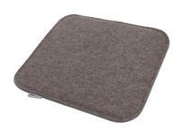 Filz Sitzkissen (Farbe wählbar) waschbare Stuhlauflage mit Füllung 37 x 35 x 3 cm – Bild 7