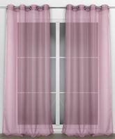 Beautex Vorhang mit Ösen 140x240 cm (Farbe Wählbar) transparente Gardine, Dolly – Bild 18