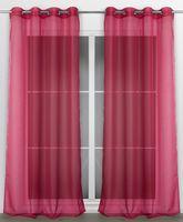 Beautex Vorhang mit Ösen 140x240 cm (Farbe Wählbar) transparente Gardine, Dolly – Bild 19