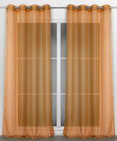 Beautex Vorhang mit Ösen 140x240 cm (Farbe Wählbar) transparente Gardine, Dolly – Bild 5