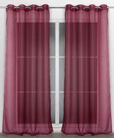 Beautex Vorhang mit Ösen 140x240 cm (Farbe Wählbar) transparente Gardine, Dolly – Bild 14