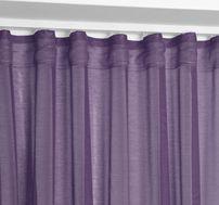Beautex Vorhang mit U-Band 140x250 cm (Farbe Wählbar) transparente Kräuselband Gardine, Dolly – Bild 15