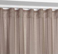 Beautex Vorhang mit U-Band 140x250 cm (Farbe Wählbar) transparente Kräuselband Gardine, Dolly – Bild 17