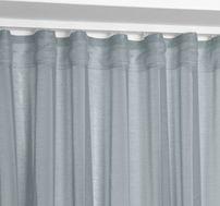 Beautex Vorhang mit U-Band 140x250 cm (Farbe Wählbar) transparente Kräuselband Gardine, Dolly – Bild 11
