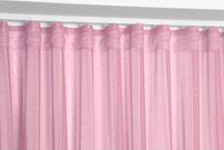 Beautex Vorhang mit U-Band 290x250 cm (Farbe Wählbar) transparente Kräuselband Gardine, Dolly – Bild 13