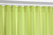 Beautex Vorhang mit U-Band 290x250 cm (Farbe Wählbar) transparente Kräuselband Gardine, Dolly – Bild 18