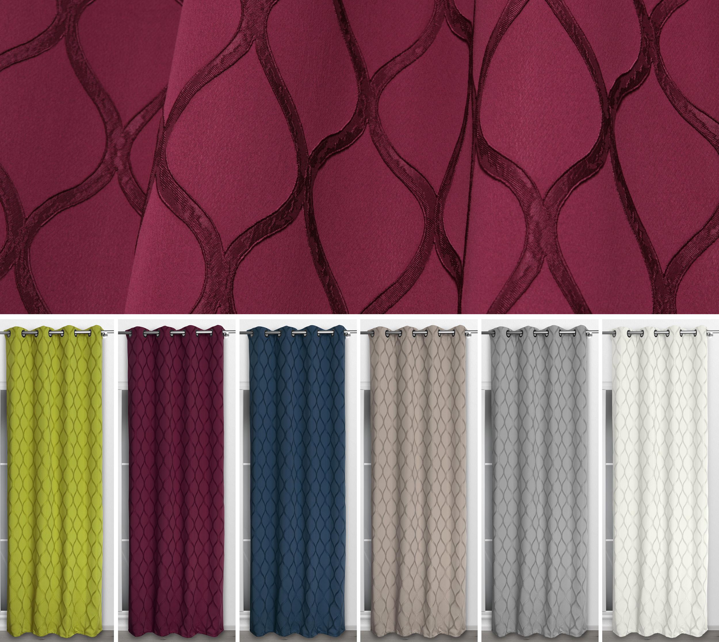 beautex vorhang mit sen 135x260 cm farbe w hlbar. Black Bedroom Furniture Sets. Home Design Ideas