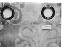 Beautex Vorhang mit Ösen 140x260 cm blickdichte Gardine in grau, Evora – Bild 5