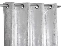 Beautex Vorhang mit Ösen 140x260 cm (Farbe Wählbar) blickdicht verdunkelung Gardine, Stardust – Bild 4