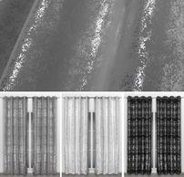 Beautex Vorhang mit Ösen 140x260 cm (Farbe Wählbar) blickdicht verdunkelung Gardine, Stardust – Bild 1