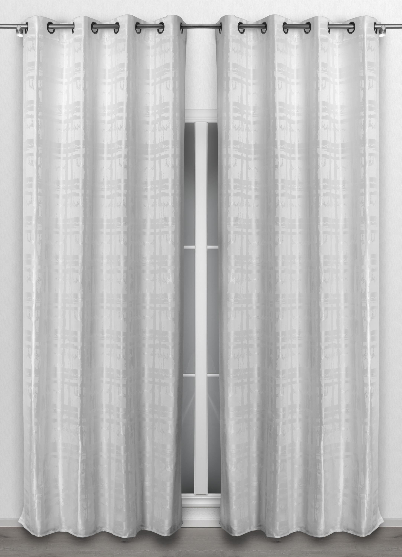 beautex vorhang mit sen 140x260 cm blickdichte gardine in. Black Bedroom Furniture Sets. Home Design Ideas