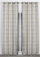 Beautex Vorhang mit Ösen 135x260 cm blickdichte Gardine in Stein, Corteza – Bild 2