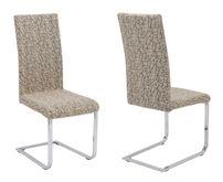 Beautex universal Stretch Stuhlhusse Marmor, elastische Husse Bi-Elastic, Farbe wählbar – Bild 8