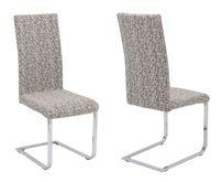 Beautex universal Stretch Stuhlhusse Marmor, elastische Husse Bi-Elastic, Farbe wählbar – Bild 7