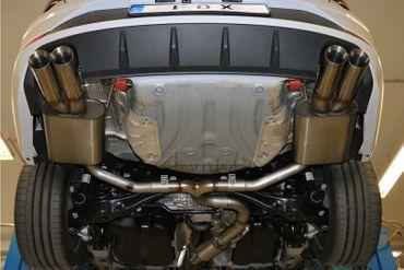 Seat Leon 5F ST 4x4 - Cupra Endschalldämpfer rechts/links - 2x80 Typ 25 rechts/links – Bild 2