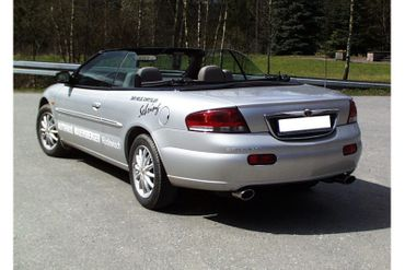 Chrysler Sebring Coupe&Cabrio Typ JR Endschalldämpfer rechts/links - 115x85 Typ 33 rechts/links – Bild 4