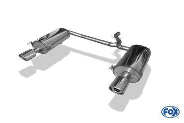 Chrysler Sebring Coupe&Cabrio Typ JR Endschalldämpfer rechts/links - 115x85 Typ 33 rechts/links – Bild 6