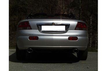Chrysler Sebring Coupe&Cabrio Typ JR Endschalldämpfer rechts/links - 115x85 Typ 33 rechts/links – Bild 3