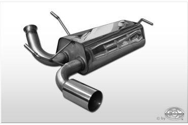 Peugeot 206 RC Endschalldämpfer quer - 1x90 Typ 10 – Bild 1