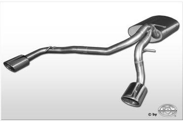 Suzuki Ignis Typ FH/ MH Endschalldämpfer Ausgang rechts/links - 115x85 Typ 32 rechts/links – Bild 1
