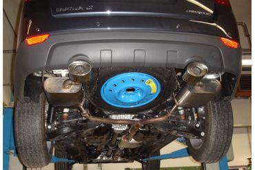 Chevrolet Captiva KLAC Endschalldämpfer rechts/links - 115x85 Typ 33 rechts/links – Bild 3