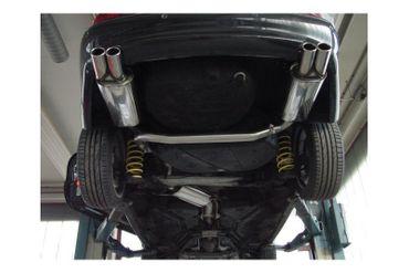 Volvo C70 I - Coupe & Cabrio Endschalldämpfer Ausgang rechts/links - 2x80 Typ 12 rechts/links – Bild 4