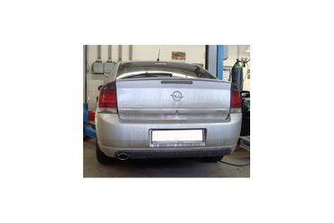 Opel Vectra C/ Vectra C GTS Endschalldämpfer einflutig - 1x106x71 Typ 32 – Bild 1