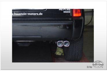 Dodge Nitro Endrohrsystem einseitig rechts - 2x78x75 Typ 70 – Bild 1