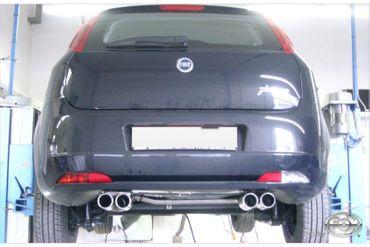 Fiat Grande Punto 199 - Diesel Endschalldämpfer Ausgang rechts/links - 2x76 Typ 13 rechts/links – Bild 1
