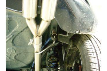 Fiat Grande Punto 199 - Diesel Endschalldämpfer Ausgang rechts/links - 2x76 Typ