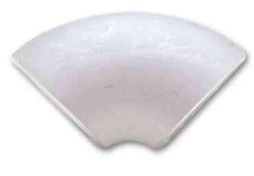 90° 42,4mm Edelstahlbogen für Krümmerbau V4A 1.4541
