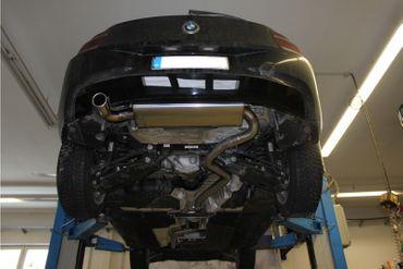 BMW F20/21 - 114i/ 116i Endschalldämpfer - 1x76 Typ 16 – Bild 6