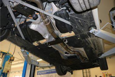 BMW F32/F33/F36 - 435i - M-Paket Vorschalldämpfer inkl. Flexstück 2-teilig – Bild 4