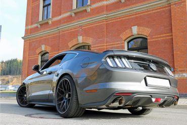 Ford Mustang Coupe & Cabrio - 4-Zylinder Endschalldämpfer rechts/links - 1x100 Typ 25 rechts/links – Bild 3