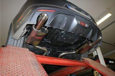 Ford Mustang Coupe & Cabrio - 8-Zylinder Endschalldämpfer rechts/links - 1x100 Typ 25 rechts/links – Bild 7