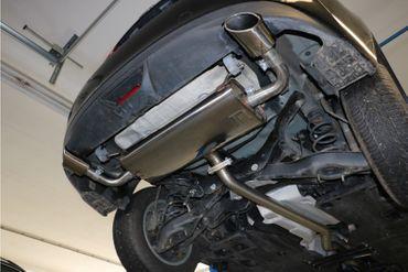 Mazda 3 - BM Endschalldämpfer quer rechts/links - 115x85 Typ 38 rechts/links – Bild 9