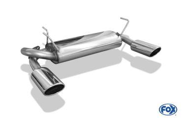 Nissan Juke - F15 (Allrad) Endschalldämpfer quer Ausgang rechts/links - 115x85 Typ 32 rechts/links – Bild 8