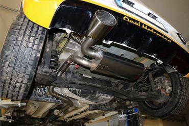 Opel Adam S Endschalldämpfer quer Ausgang links - 140x90 Typ 44 links – Bild 2