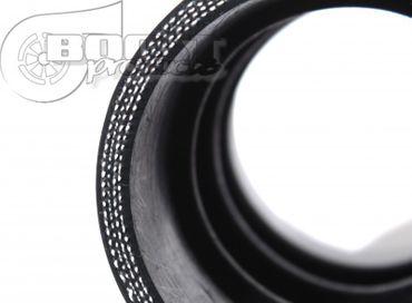 BOOST products Silikonbogen 180°, 102mm, schwarz