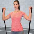 Spiro Fitness Womens Tech Panel Marl T-Shirt Damen