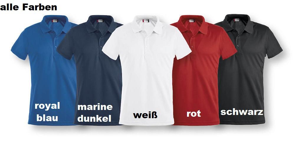 2ebe0b83bfef CLIQUE Ice Polo Poloshirt Herren Unisex Kurzarm Angebote nach ...