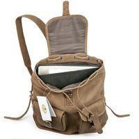 Hamosons – Medium sized leather backpack / city bag size M made out of buffalo leather, tan, model 559