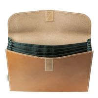 Jahn-Tasche – A4 document case / document holder made out of leather, cognac brown, model 1040