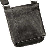 Jahn-Tasche – Kleine Umhängetasche Größe S / Handtasche aus Nappa-Leder, A5 Hochformat, Schwarz, Modell 418