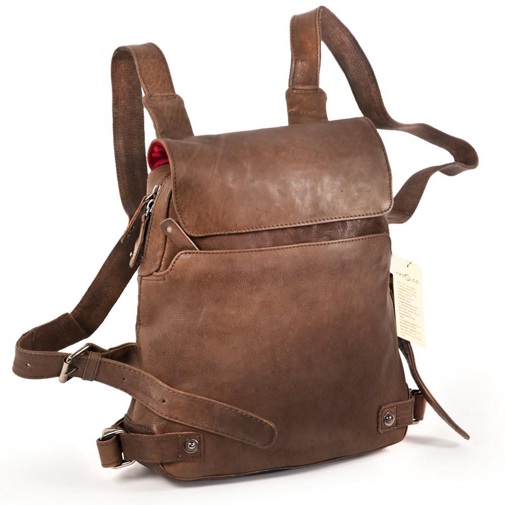 damen handtaschen rucksack 223702 leder braun. Black Bedroom Furniture Sets. Home Design Ideas