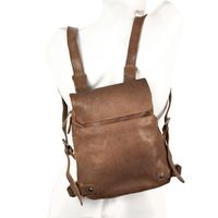Harold's – Small Leather Rucksack / Daypack size S, Brown, Model 223702